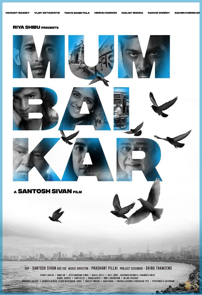 #Titlelook of #Mumbaikar @shibuthameens #shibuthameens Production debut in #bollywood Directed by #Santoshsivan @santoshsivan #VijaySethupathi  @VijaySethuOffl #tanyamaniktala #Hridhuharoon #Sanjaymishra #Sachinkhedekar @masseysahib @RanvirShorey  #Hindimovie #VJS  #newbeginnings
