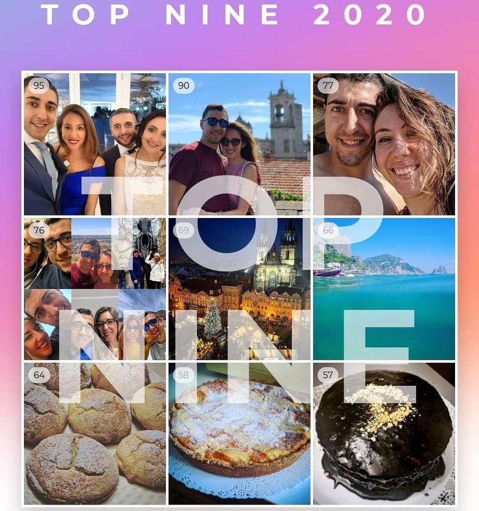 Questo 2020 ha fatto anche cose positive  #noi #travel #bakery #love #solocosebelle #topnine #bestnine #mytopnine
