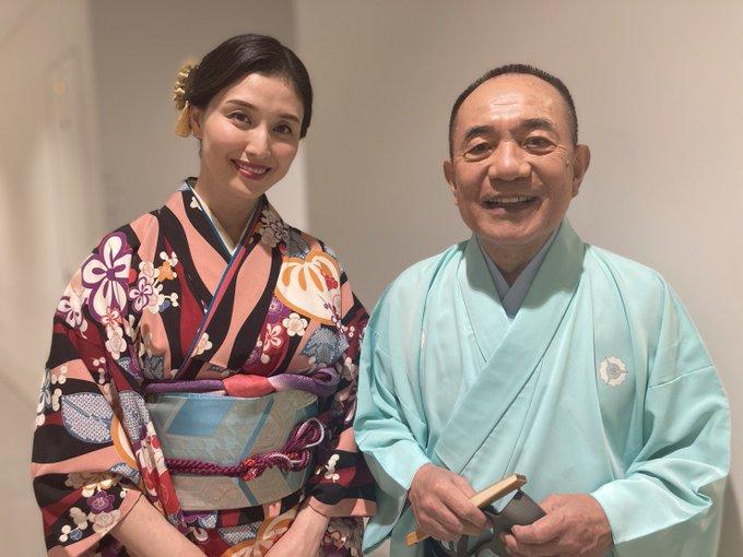 1 pic. このあと16時から日本テレビ 笑点 振袖大喜利です💕💕小遊三師匠と組ませていただきました そして23時からはBSフジ 橋本マナミのヨルキャンプ😊人妻の暴露トークです。こちらもみてね https://t
