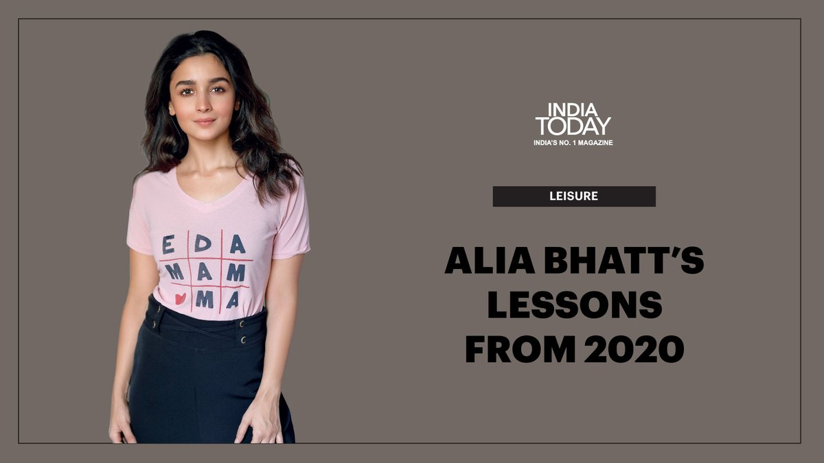 Click  to read what has Alia Bhatt learnt from 2020? #MagazinePromo