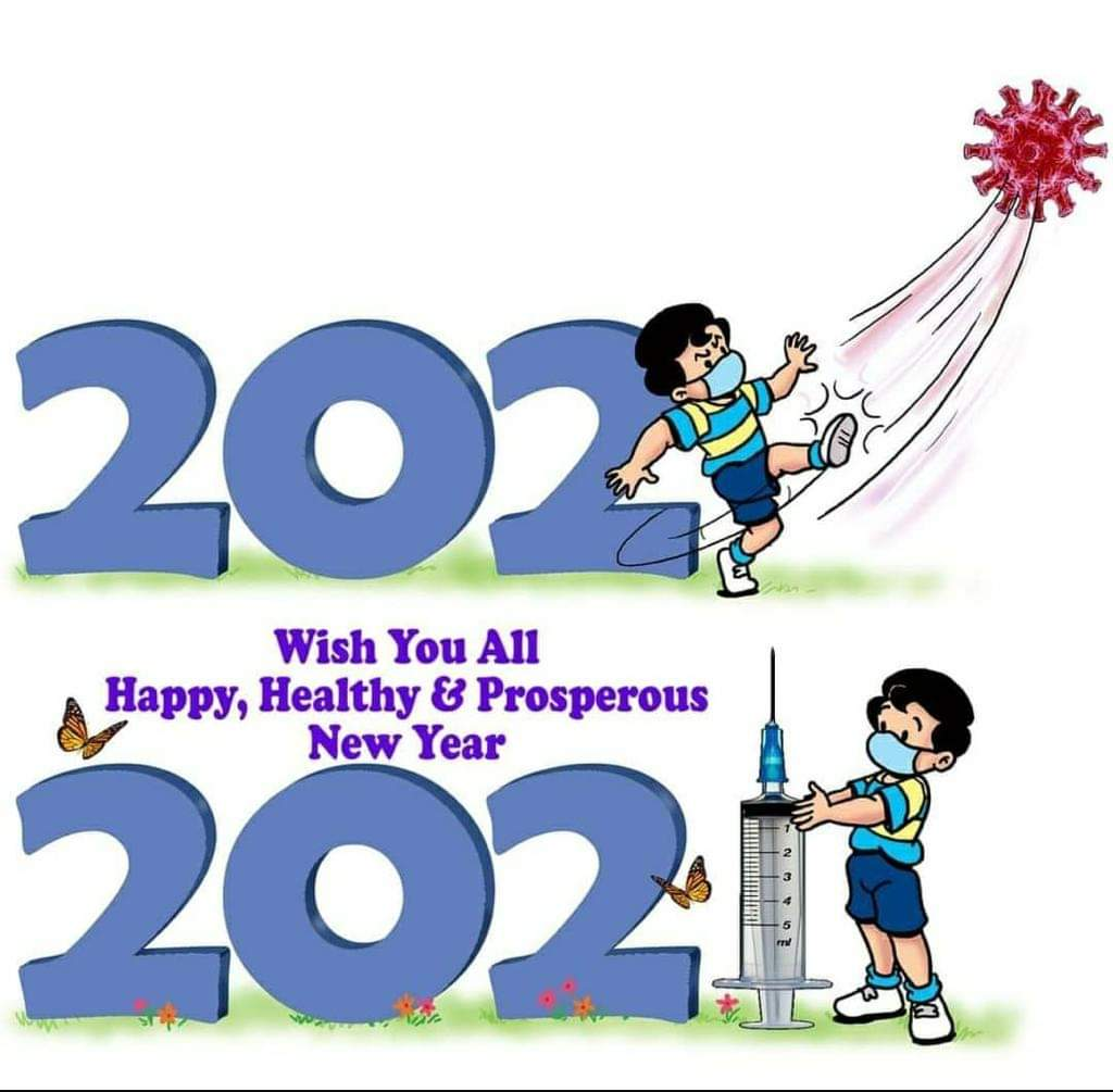 Wish you all a happy, healthy and prosperous #2021NewYear