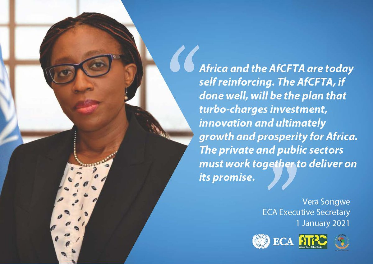 The day is finally here! The 1st of January 2021 marking the start of the African Continental Free Trade Area. #AfCFTA https://t.co/UlOsAcp7JL