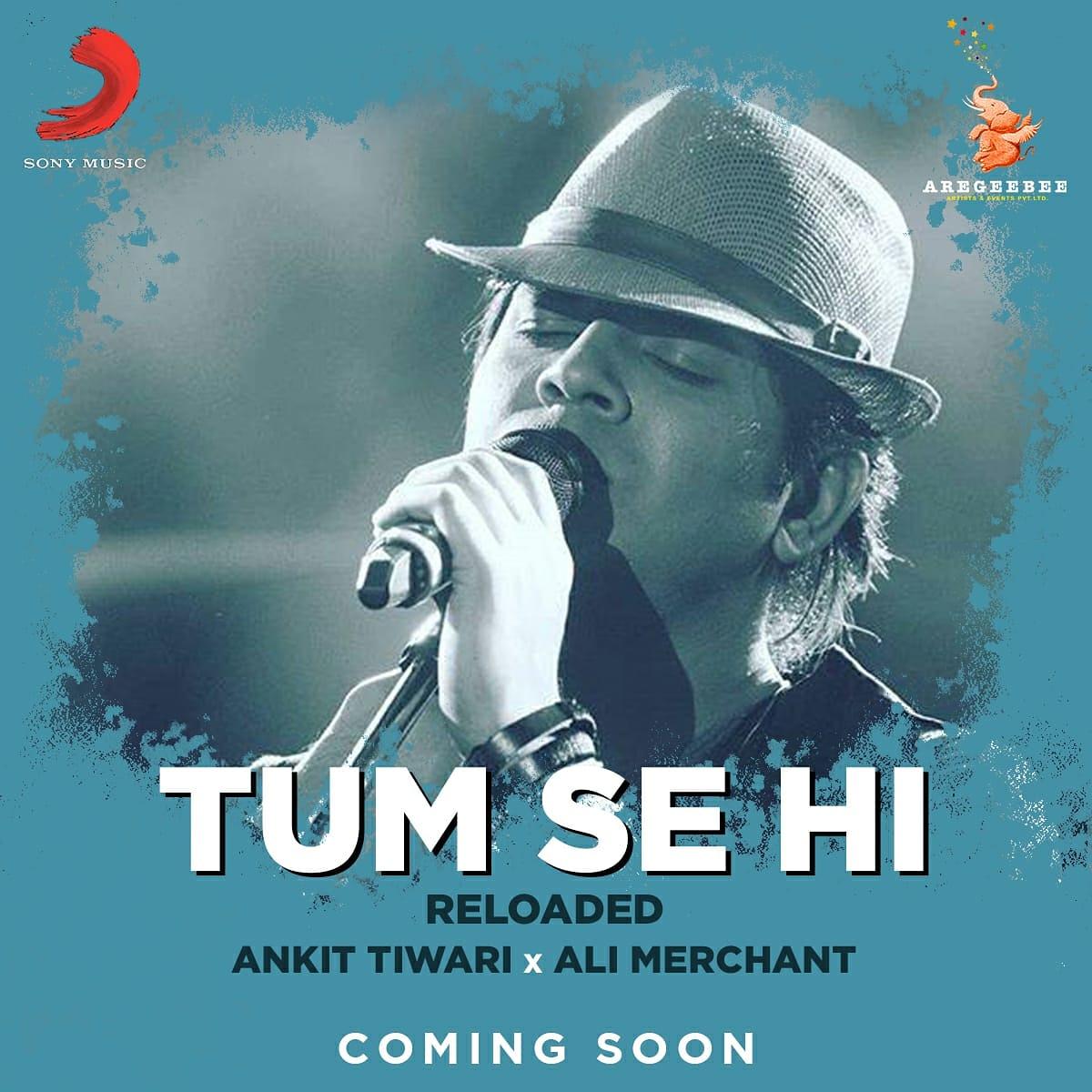 This new year, experience the magic of love with the all new Tum Se Hi by Ankit Tiwari and Ali Merchant✨  #tumsehi #comingsoon  @officiallyAnkit @AliAMerchant @shabbirahmed @aliaa08 @PoojaB1972 @MaheshNBhatt @VisheshFilms @duttsanjay #AdityaRoyKapur #leenabose @rhythm_shaw