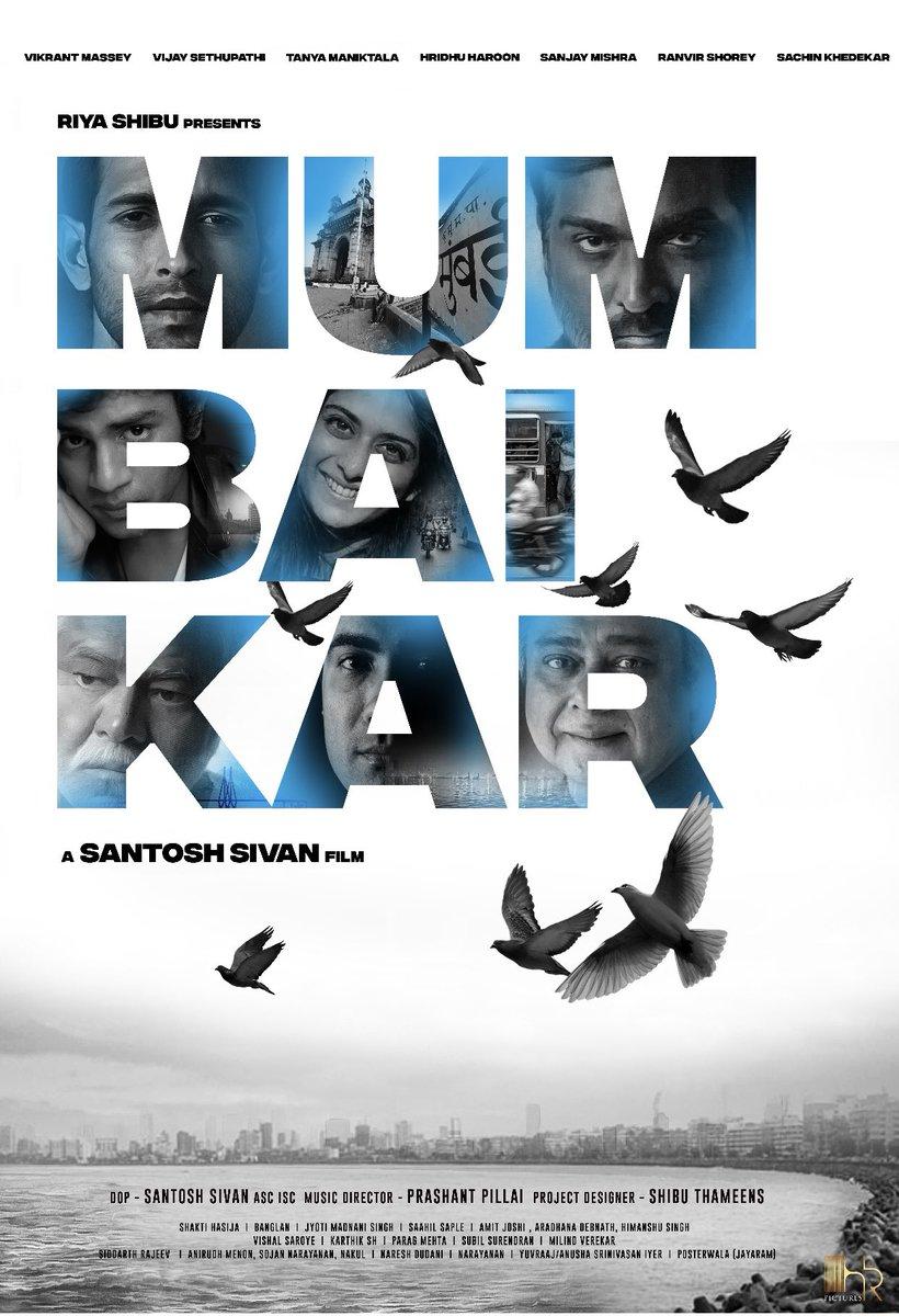 A @santoshsivan film!!! #Mumbaikar @VijaySethuOffl @masseysahib #tanyamaniktala #hridhuharoon #sanjaymishra @RanvirShorey #sachinkhedekar