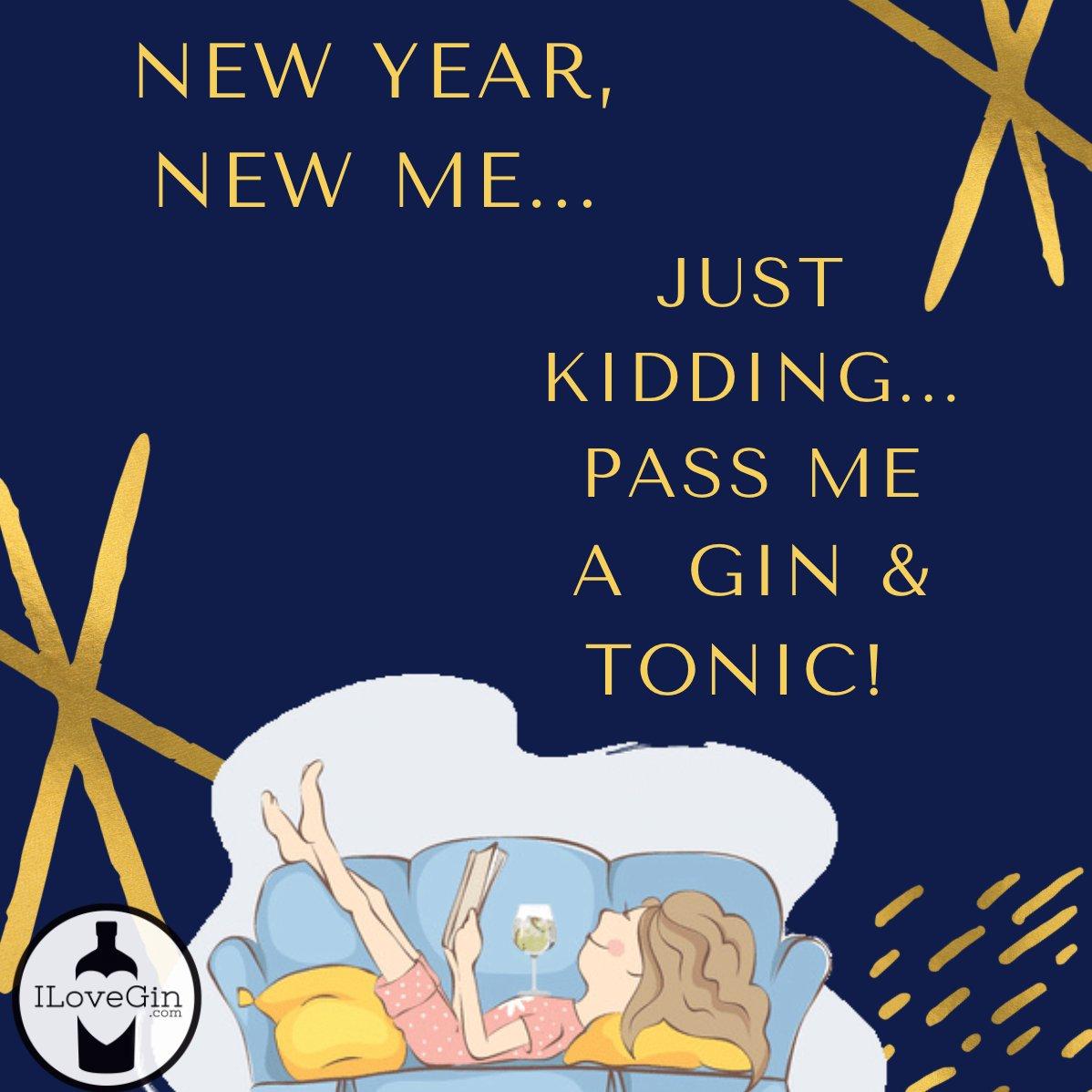 Happy New Year from us at I Love Gin ! 🍸✨ https://t.co/lMIj2FXXKF