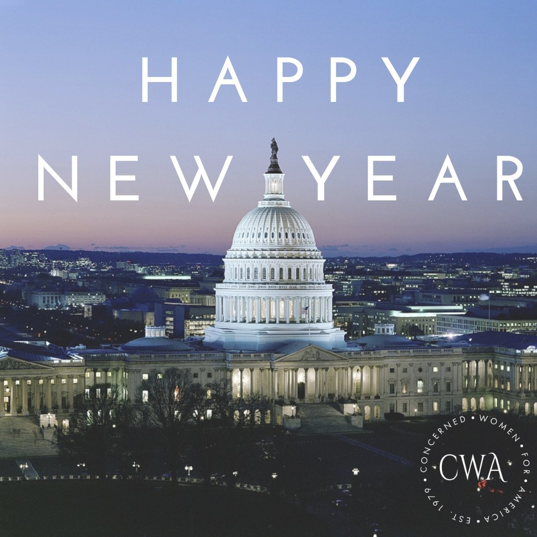 Happy New Year from CWA! Praying God's blessings and peace over you and your families in 2021.
