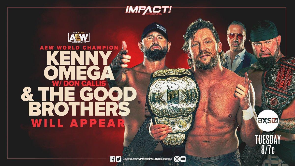 Impact Wrestling Preview (1/5): Kenny Omega Returns, KO Tag Tournament Cont., Callihan Vs. Edwards