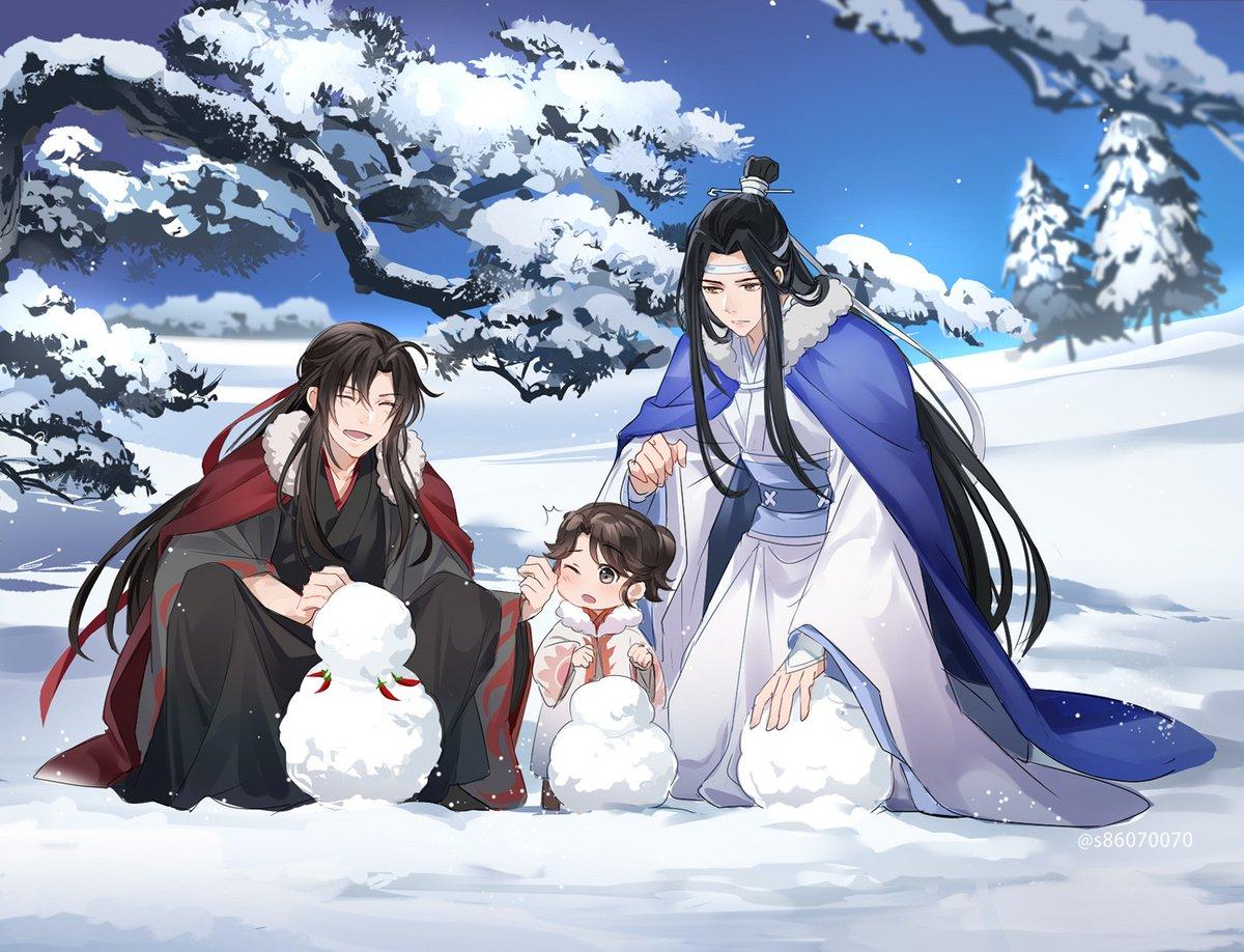 雪遊び~❄️