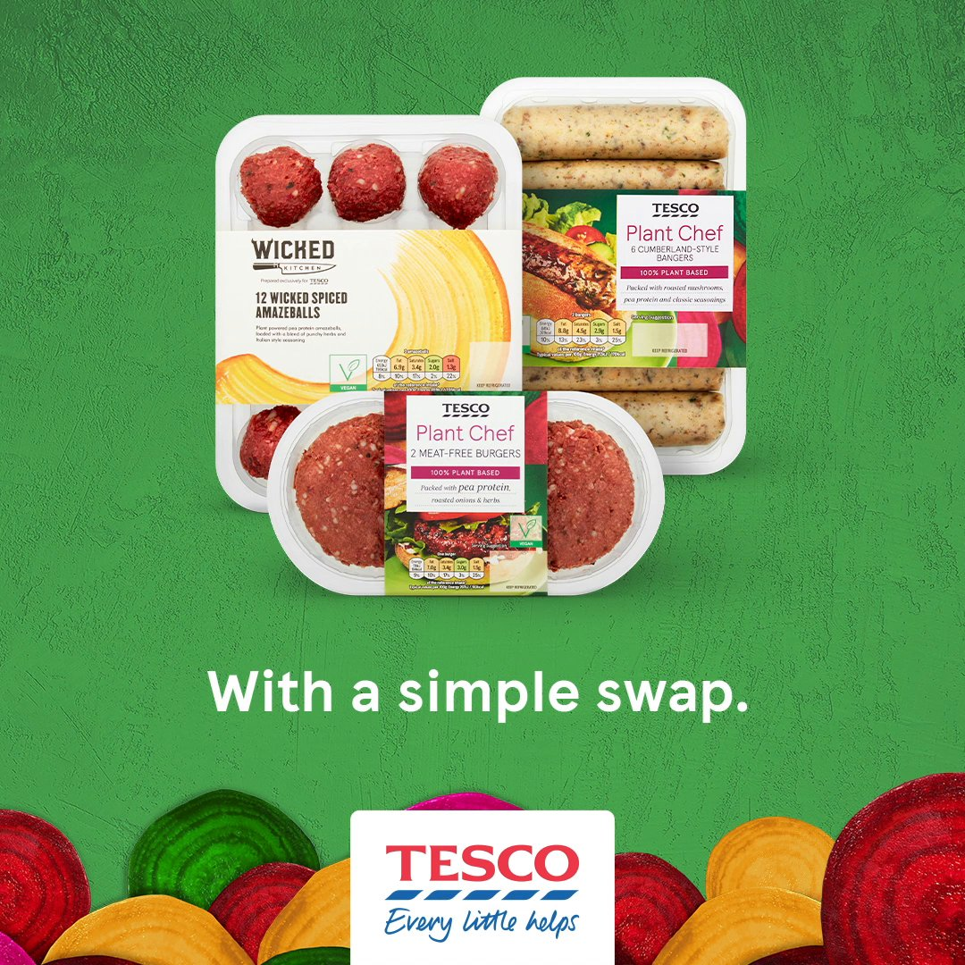 Thinking of trying Veganuary but don't know where to start? Try a simple swap from our plant based ranges and see how easy it is to make a change. Head to  to find out more.
