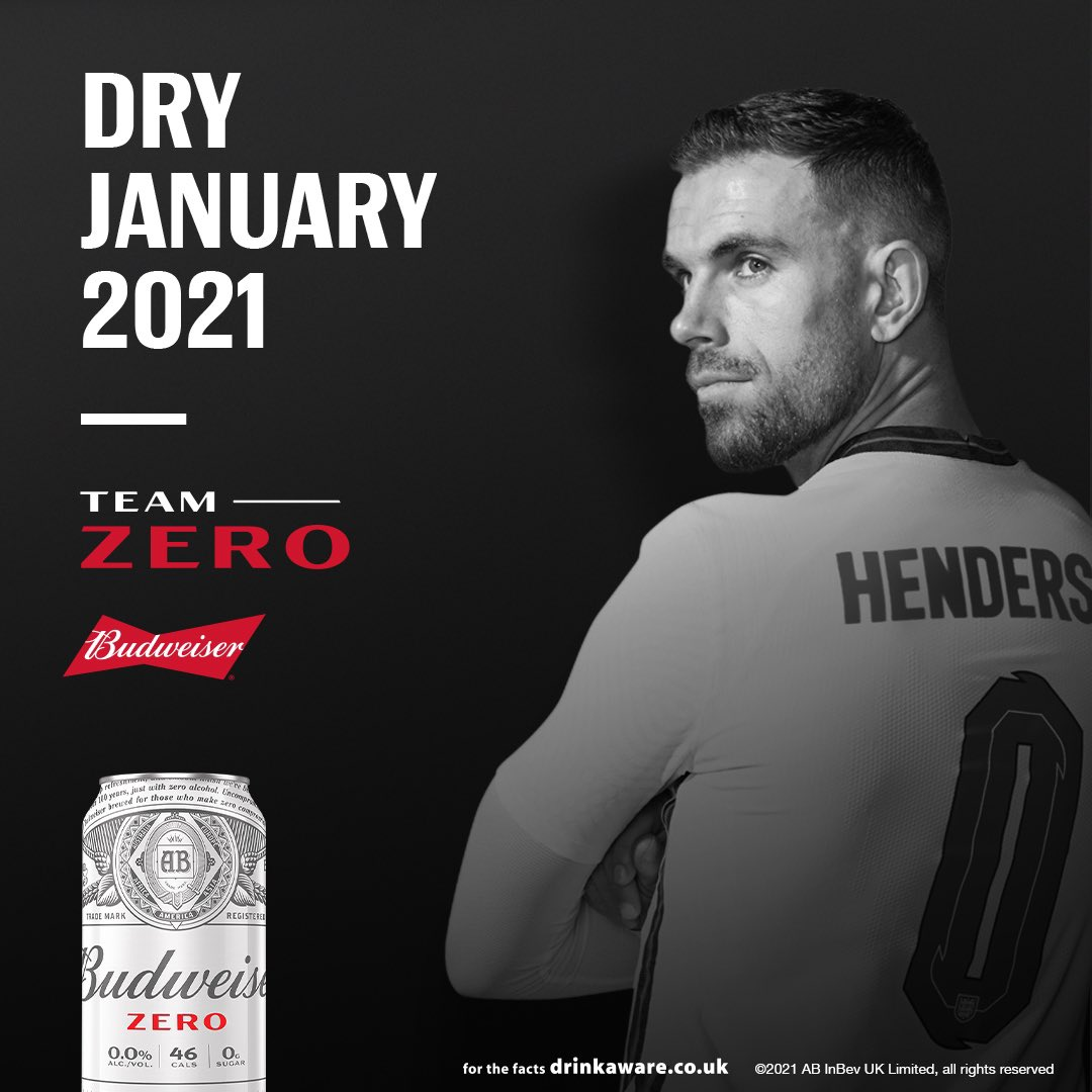 New year, new start... make the right choices and be 100% on your game.💪🏻  Join me and #TeamZero for Dry January with #BudweiserZero for a chance to win a pair of hospitality tickets to an England home game.   #Ad #StartFromZero