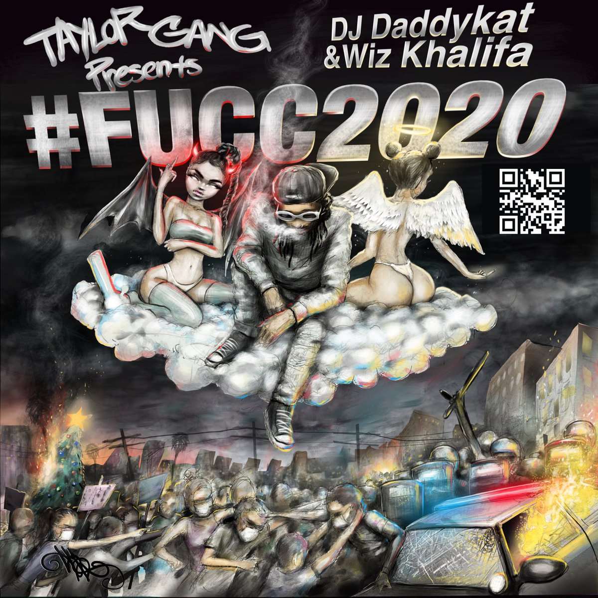 Replying to @wizkhalifa: TAYLORS BRING IN 2021 WITH THE #FUCC2020 PLAYLIST   🚨Stream it at