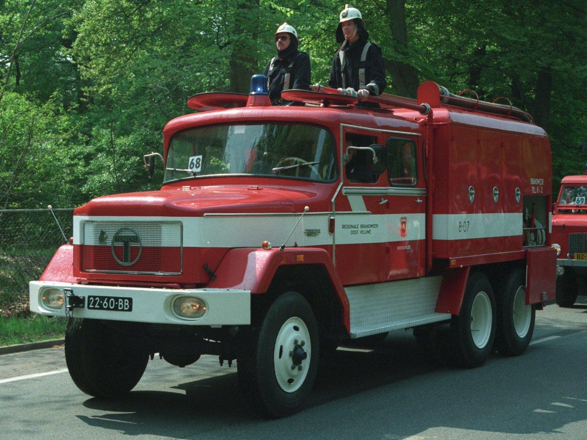 Melding brandweer Hoenderloo