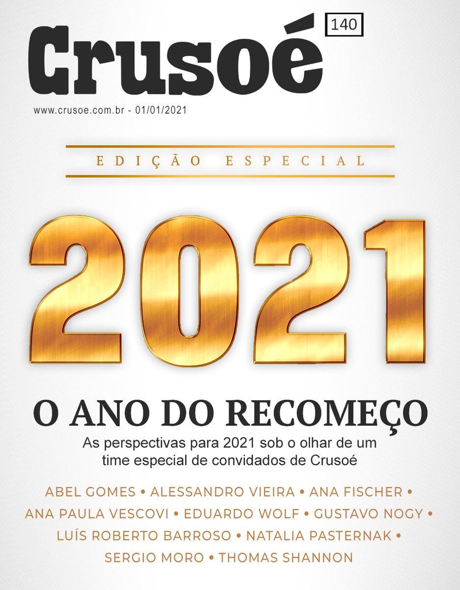 A NOVA EDIÇÃO DA CRUSOÉ ESTÁ NO AR. FELIZ 2021!