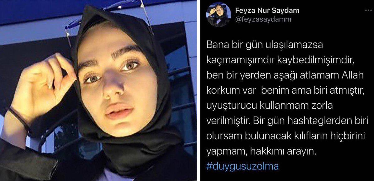 Replying to @onediocom: #feyzayaneoldu? Sosyal Medya 17 Yaşındaki Genç Kızın Ölümünü Konuşuyor