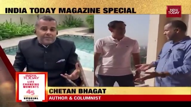 Joining IIT was the biggest turning point in my life says @Chetan_Bhagat. Hear his story.   #IndiaTodayMagazine