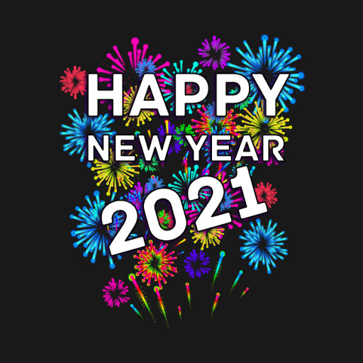 Let's welcome together, a new year with new hope and new found ways to help one another! Here's to 2021!