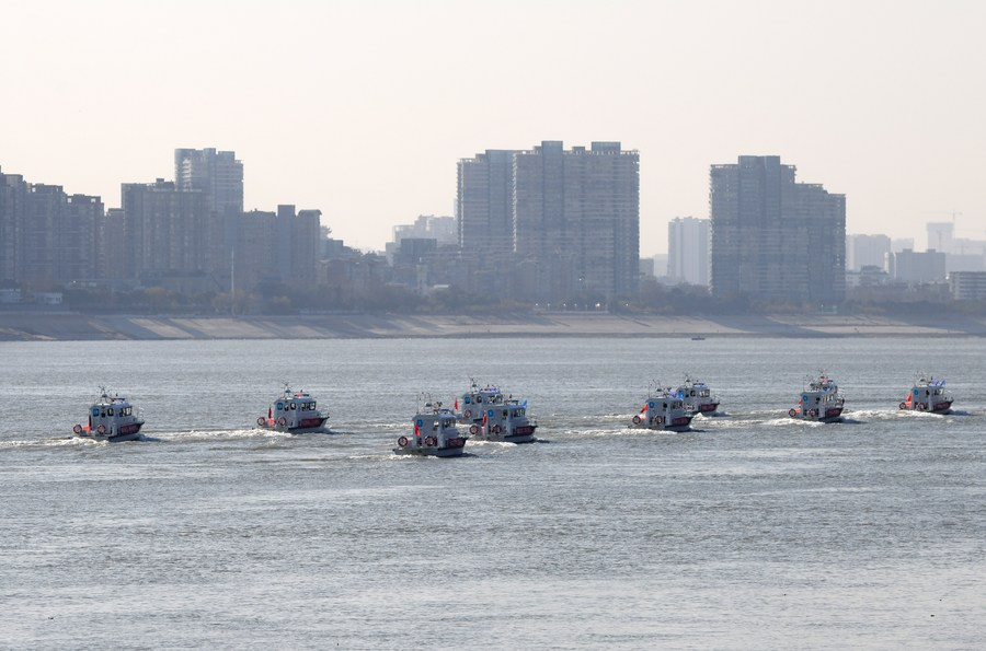 A complete 10-year fishing ban is imposed in key waters of the Yangtze, China's longest river starting Friday #ChinaFocus