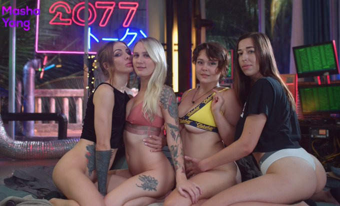 Cyber stream with girls @ta_liaquinn @AlicePeach7 and Lina on https://t.co/6SdPKfdDSM 🤩 https://t.co