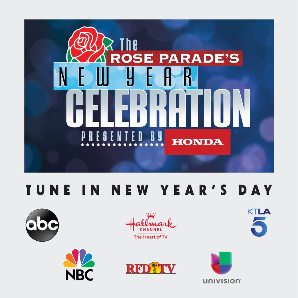 Tune in to the #RoseParadeReimagined on New Year's Day for a surprise appearance by me. Find out how you can help support @FeedingAmerica, a cause near to my heart. See you there! @roseparade
