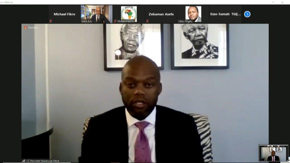 Statement by the Secretary-General of the AfCFTA Secretariat, H.E. @MeneWamkele, at the #AfCFTA Start of Trading Ceremony Webinar @ https://t.co/YXP5CWG0ZO https://t.co/zZVIq4Egfv