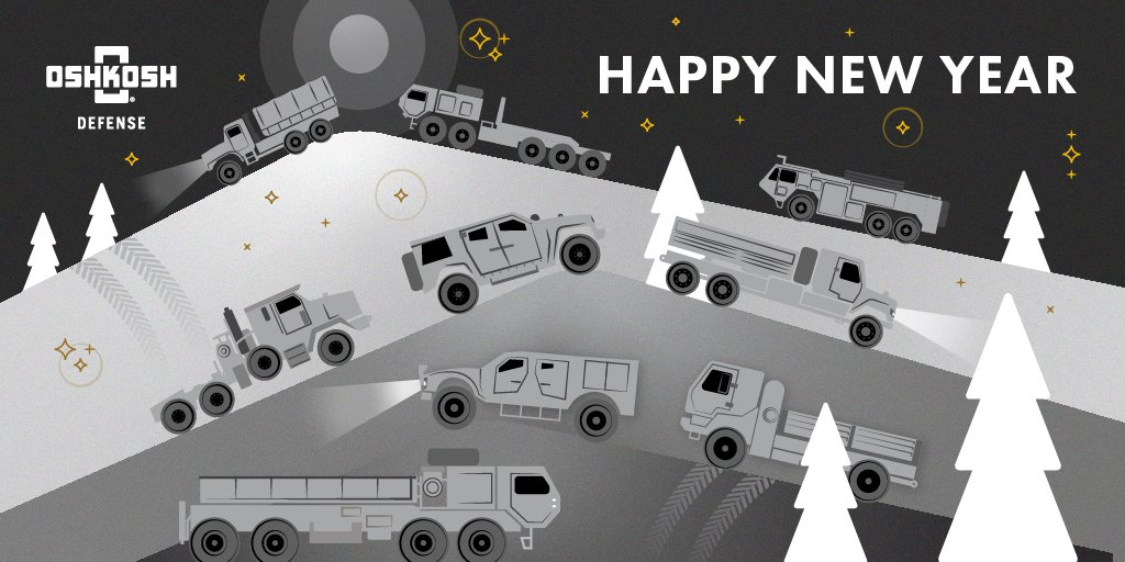 From all of us at Oshkosh Defense, we wish you & yours a #HappyNewYear. ✨ https://t.co/HMxHrDyC2C
