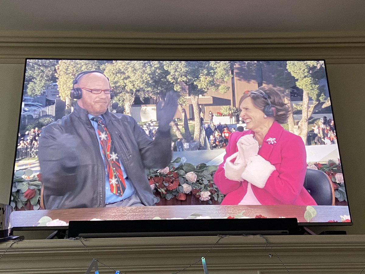 Since the #RoseParade was #RoseParadeReimagined and we didn't get Cord and Tish 2019 broadcast.