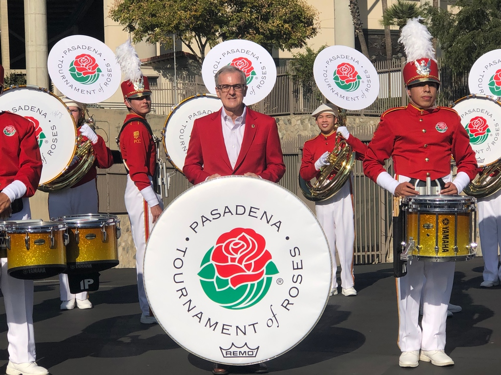 The Tournament of Roses Parade New Year's celebration has been reimagined from previous years. Check out this year's virtual live to tape musical and marching band performances. Happy New Year from everyone at Remo Inc. #tournamentofroses #roseparade #2021 #happynewyear