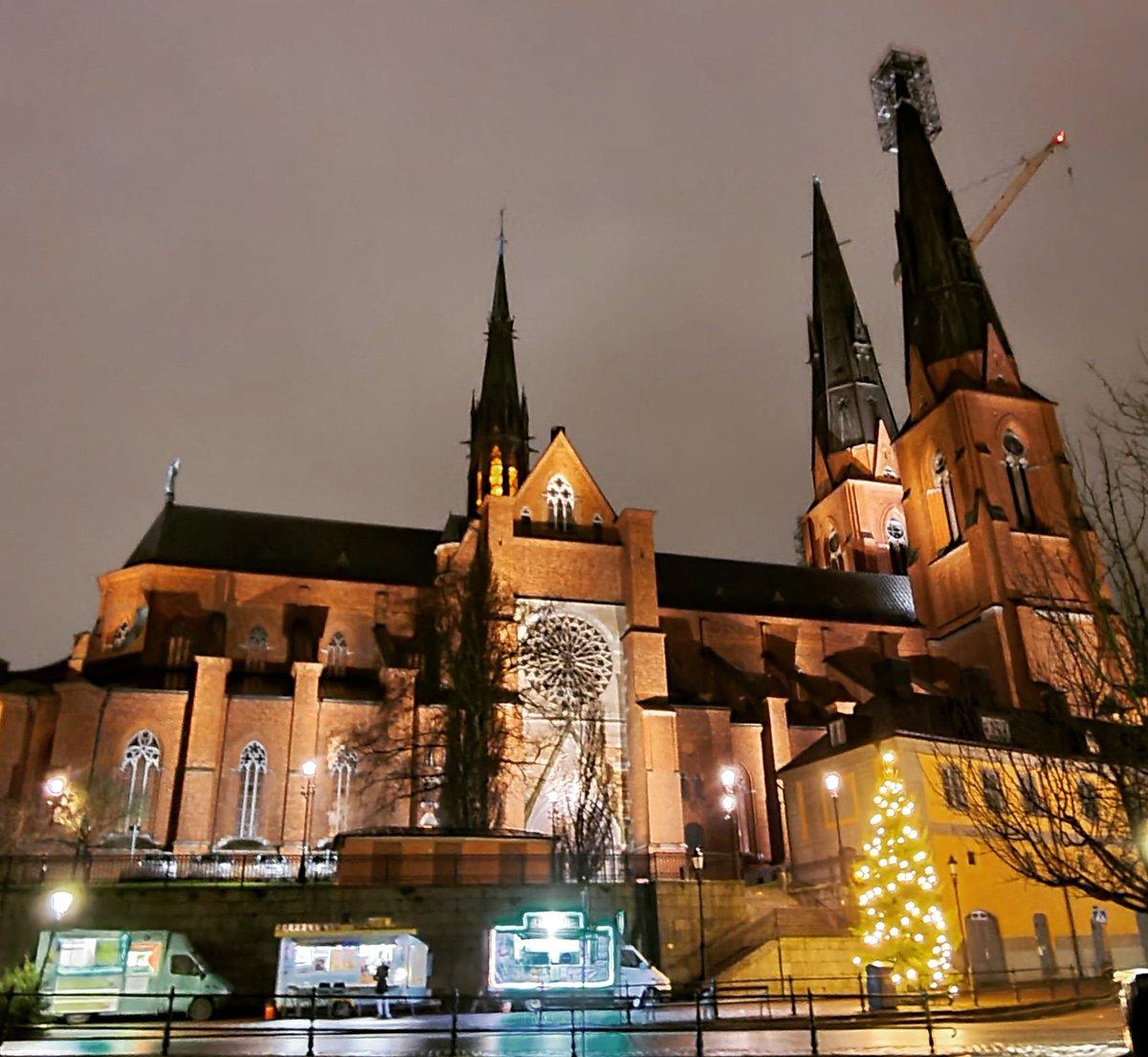 உப்சாலா எனும் பழைய நகரத்தில் உள்ள தேவாலயம். இருட்டில் எவ்ளோ அழகு பாருங்கள் 😊🙏🤩🥳❤️😍💕🥰😘 #uppsala #uppsalacity #uppsalafotografiska #uppsaladomkyrka #sweden #church #churches #NightPhotography #tamilyoutuber #gumbalasuthuvom