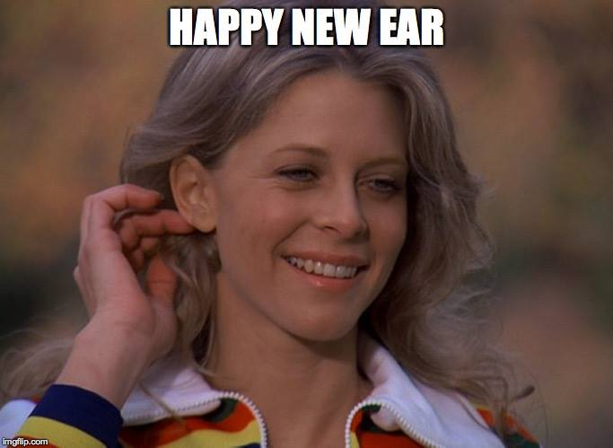 HAPPY NEW EAR from your pals at American Sci-Fi Classics Track. May your new year find you better, stronger, faster, and worth 6 million dollars. @OSI_Files   #dragoncon #70s #70stv #geek #nerd #bionicwoman