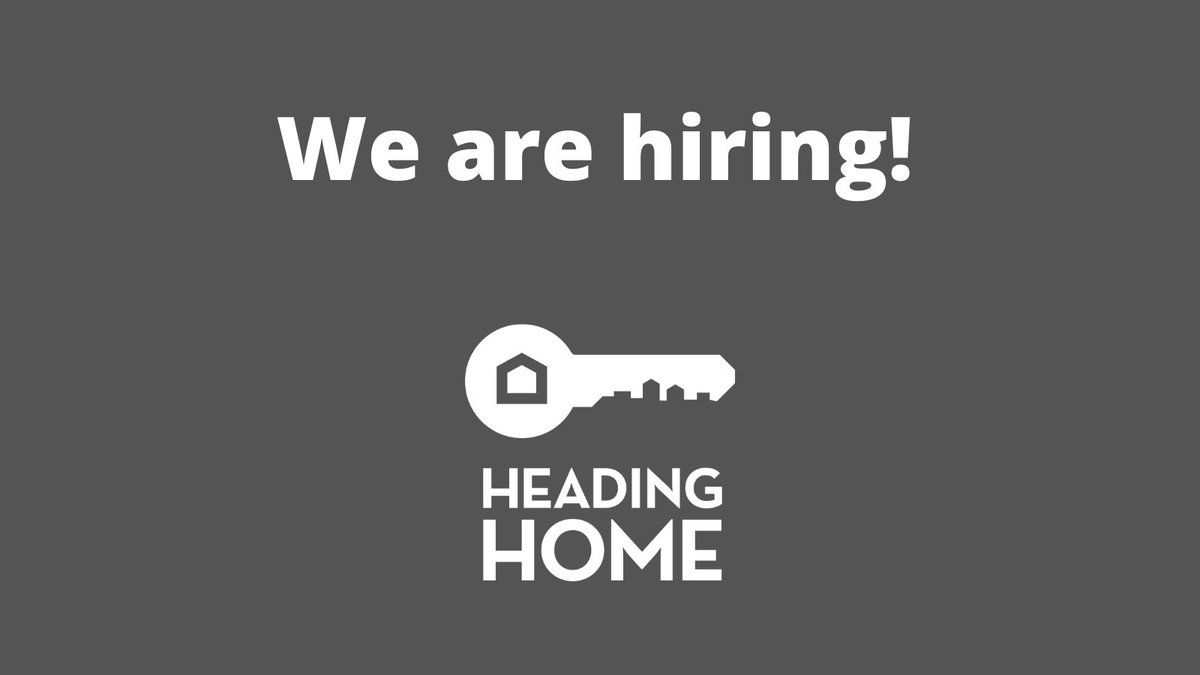 New Year, new job? We are hiring. Visit our website at https://t.co/fKfFhjor01 to see all of our current employment opportunities and join our team! #EndHomelessness https://t.co/ldiDYUVOgu