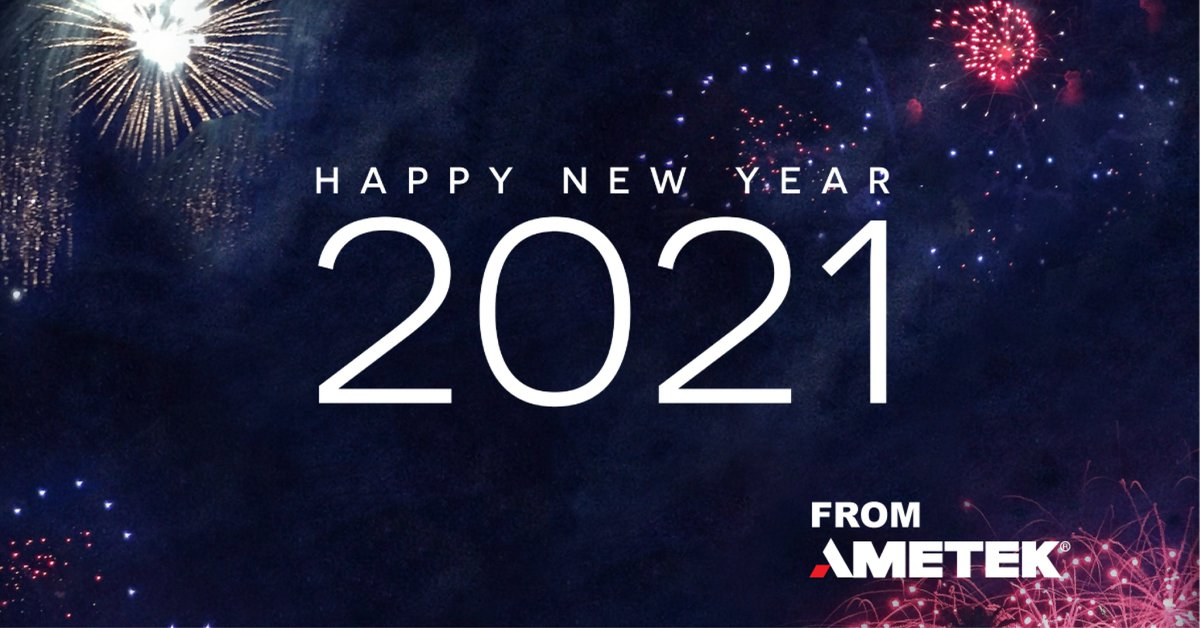 #HappyNewYear from AMETEK. https://t.co/K9VCdsBlvB