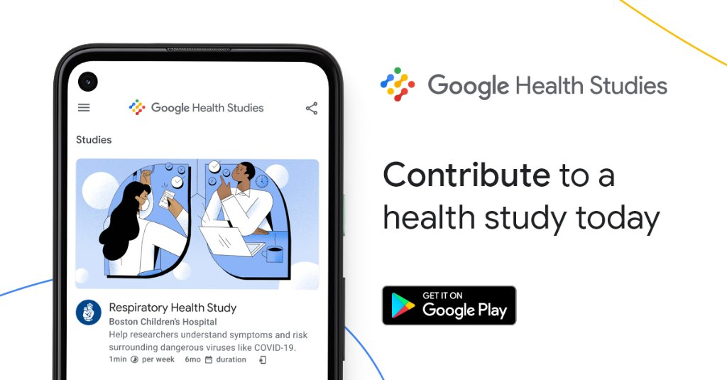 Haven't made your #NewYearsResolution yet? We have an easy one. Download #GoogleHealthStudies — an @Android app that allows you to contribute to medical research. Download now: