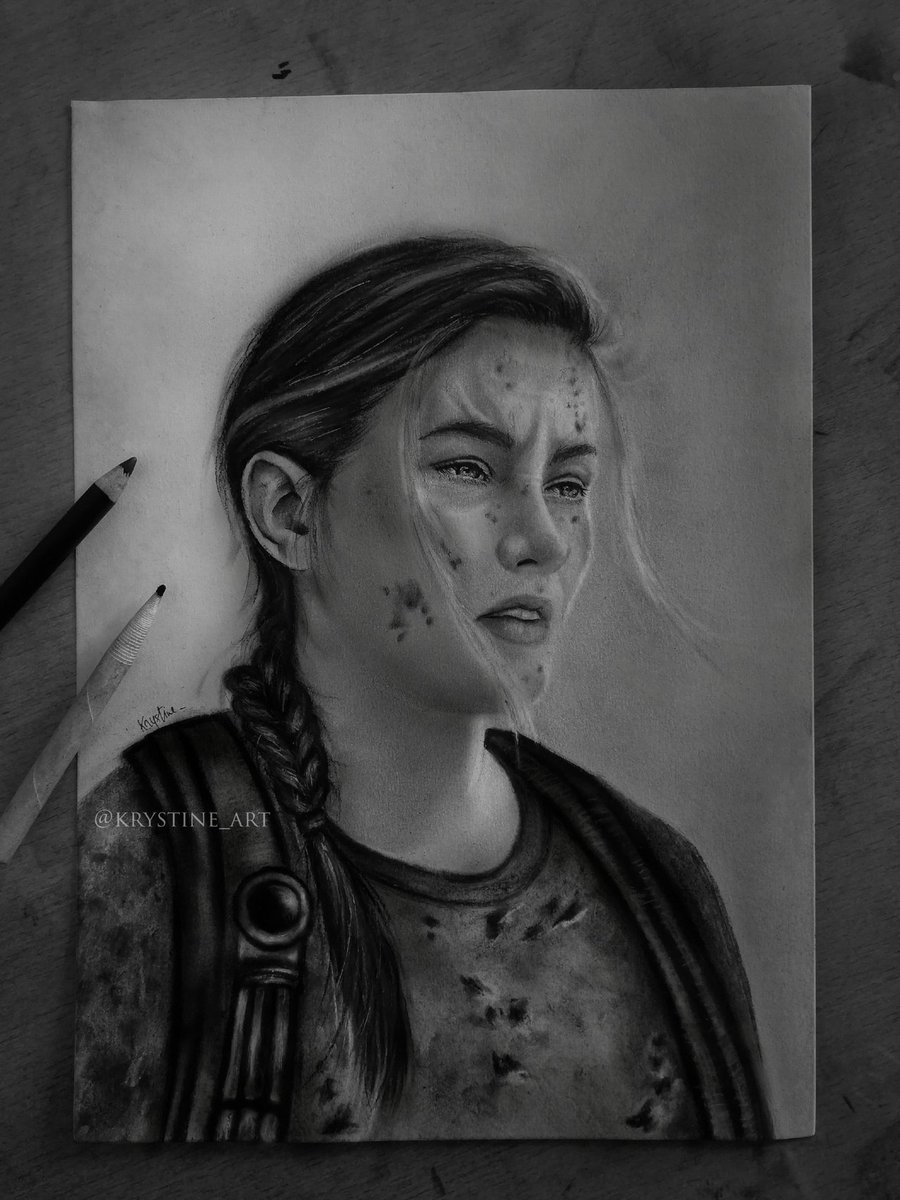 #FanArtFriday: Abby from The Last of Us Part II by krystine_art   Submit your own creations here for a chance to be featured: