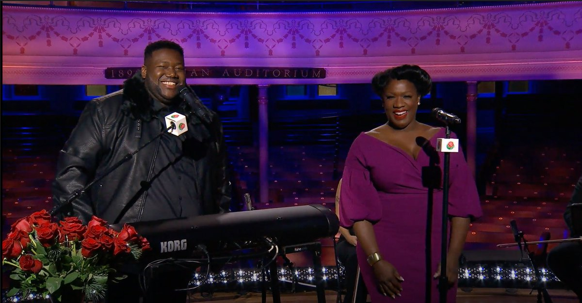 We truly are one as we stand united during this unique time. @warandtreaty's powerful performance from @theryman in Nashville, TN gives us hope for a healthy 2021. #RoseParadeReimagined