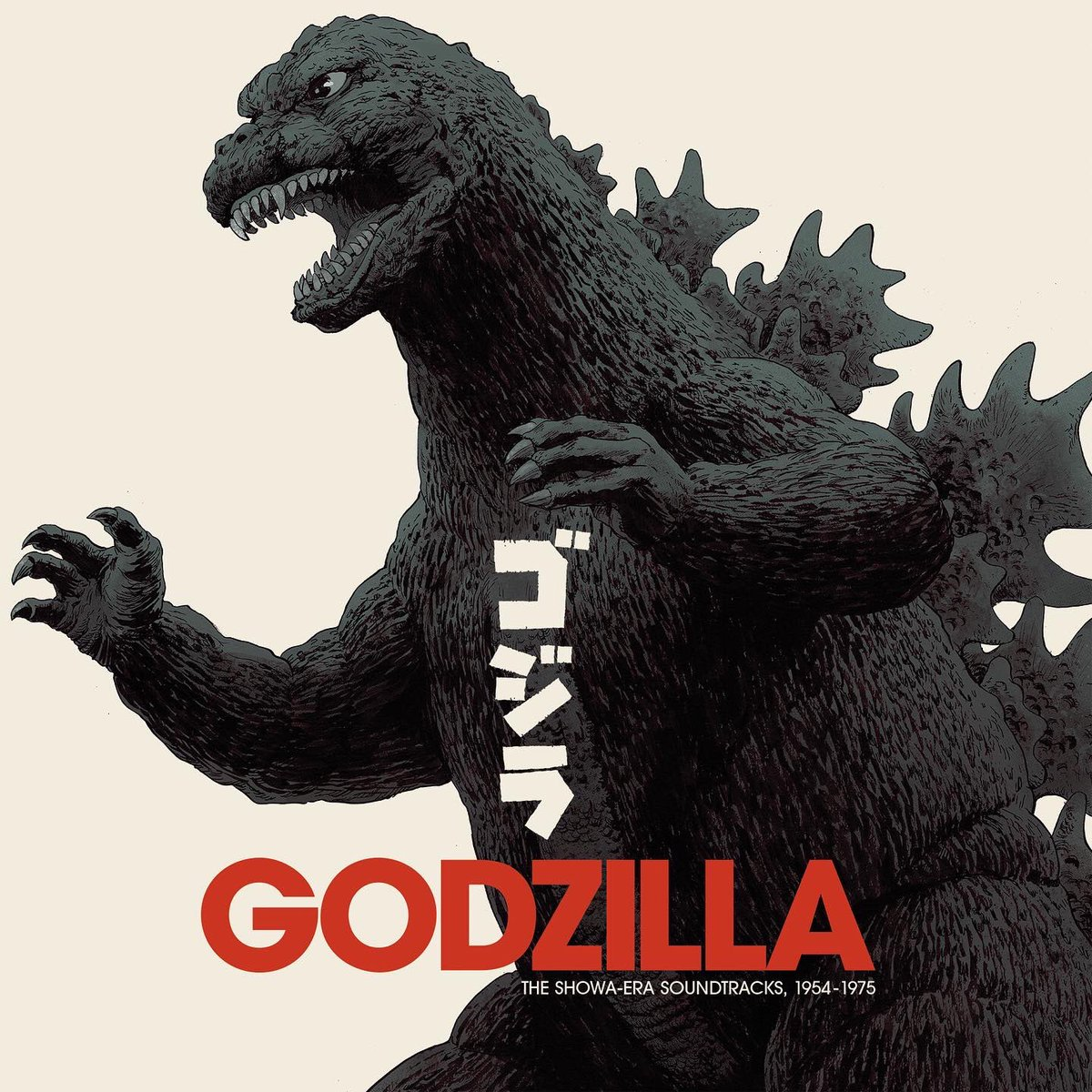 GODZILLA: The Showa Era Soundtracks, 1954-1975 18xLP Box Set is On Sale Now!