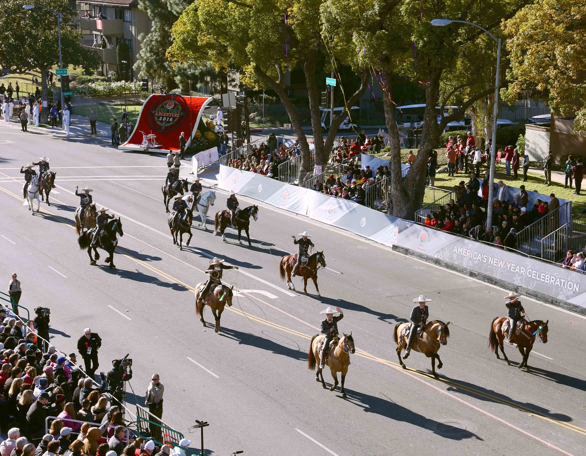 Los Hermanos Banuelos is a Mexican charro team formed in 1995 celebrating Mexican culture, heritage and history. They have been a fan favorite of the #RoseParade for 12 years. #RoseParadeReimagined