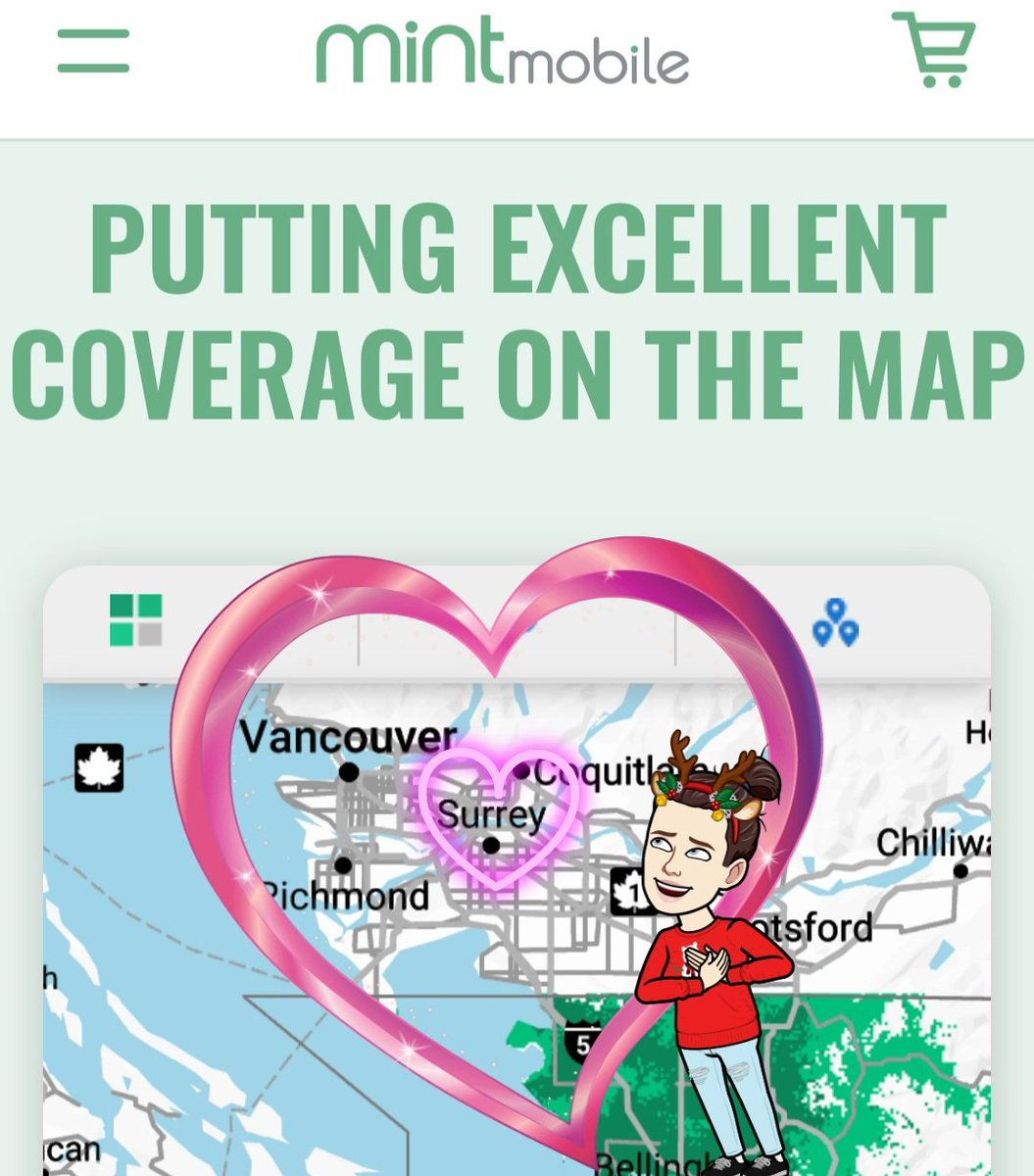 @VancityReynolds Can u make this coverage spread just a bit north... like the Cloverdal portion of Surrey? I'm sure you know of it! I will 100% switch. @VancityReynolds @Mintmobile