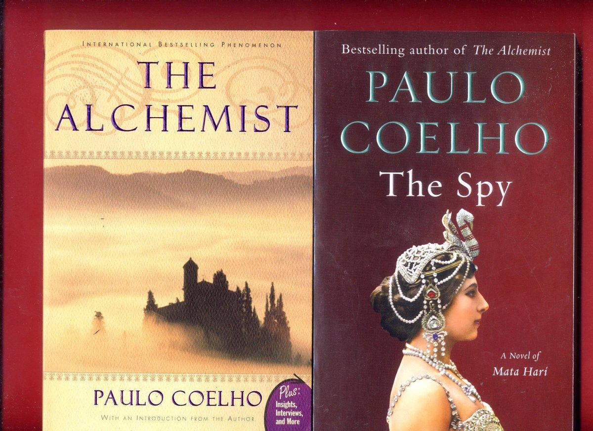 2 Paulo Coelho books: The Alchemist + The Spy -Free Shipping  #Alchemist #PauloCoelho #Coelho #TheAlchemist  #lovePauloCoelho