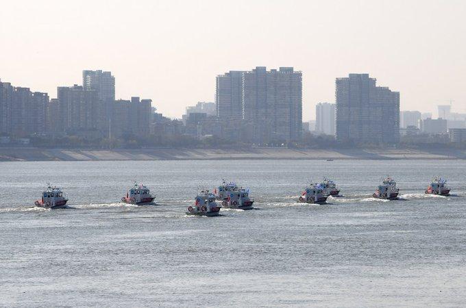 O interdicție completă de pescuit de 10 ani este impusă în apele cheie din Yangtze, cel mai lung fluviu din China începând de vineri. #ChinaFocus