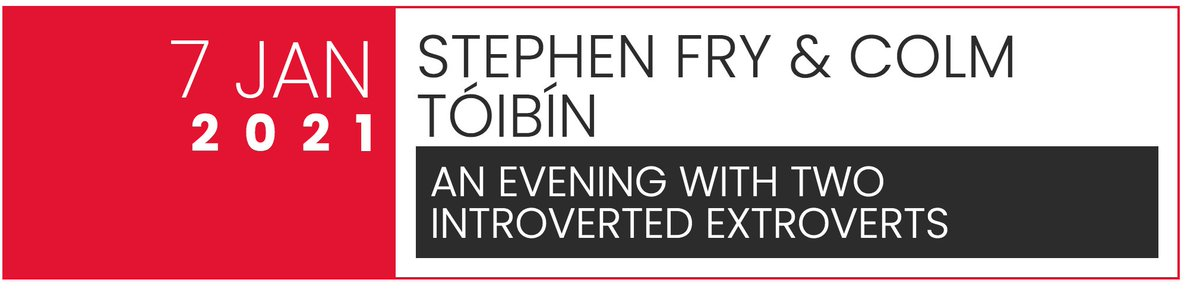Wherever you are in the world, join Colm Tóibín and me to talk inspirations, paths to freedom and our retellings of ancient myths. 6.30pm GMT Jan 7 as part of @writingandideas Winter Series. Tickets to watch live or online:  @simonschuster @PenguinUKBooks