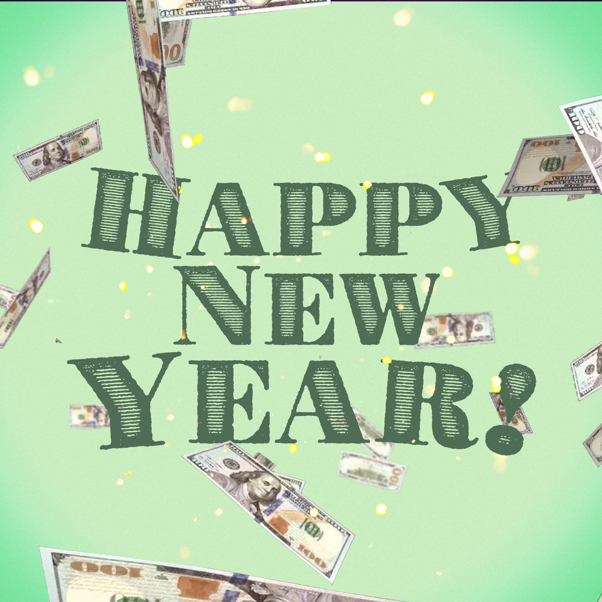 Happy New Year! 💸 🎆