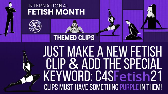 January is International Fetish Month and we're showing our support for the initiative with the 'Purple'