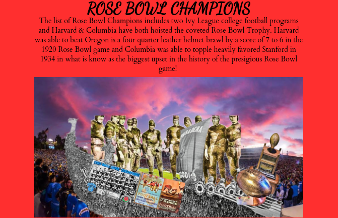 College Football Today & ESPN Plus Virtual Rose Parade now features some world renowned Rose Bowl Champions in slide five & we are not at intermission of the 2020 Rose Parade for the 2020 Rose Bowl CFP Semifinal!     #RoseParade #CFBPlayoff #CFP