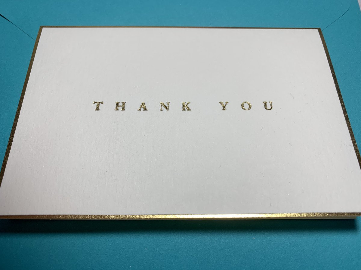 Time to write a #ThankYouNote and show your #gratitude for #christmas and #hannukah ..