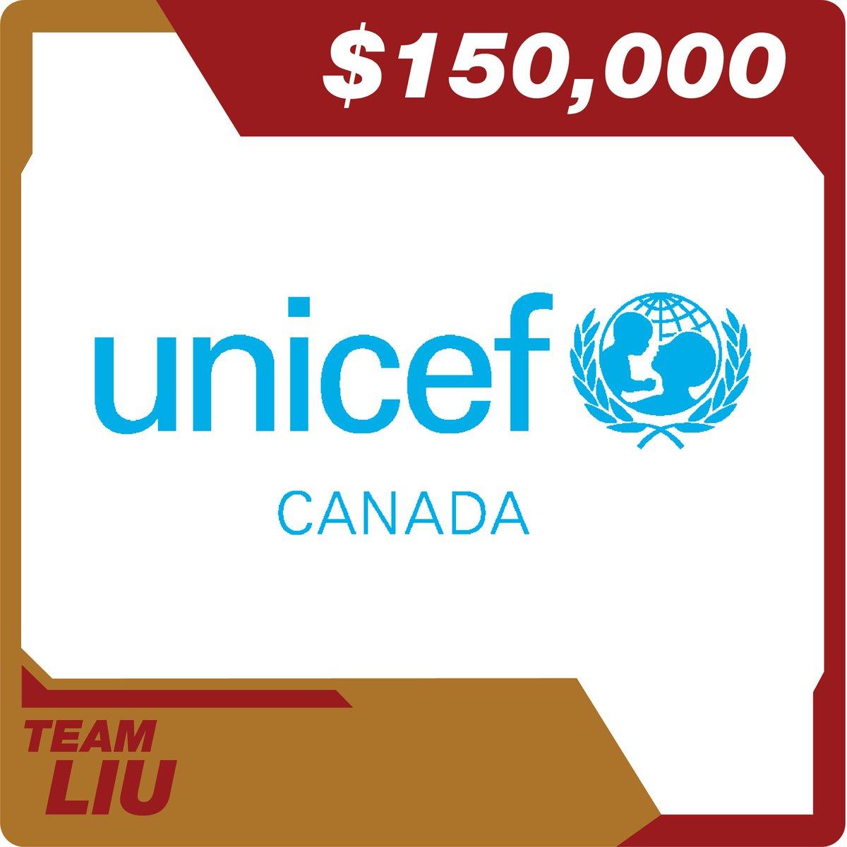#TeamLiu @SimuLiu @UNICEFCanada
