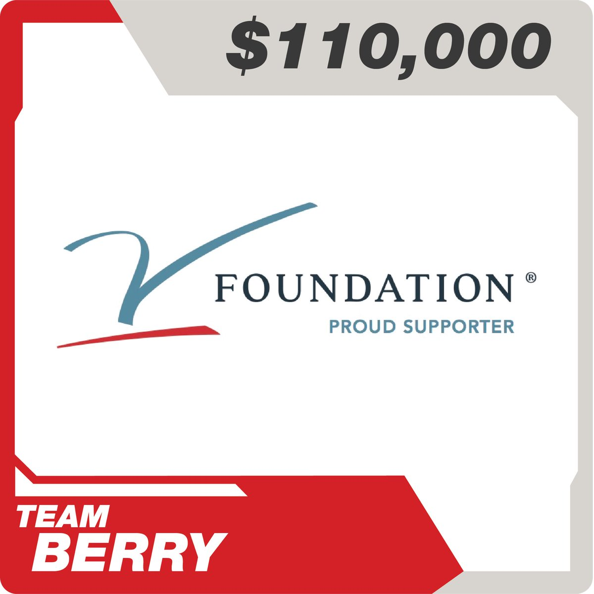 #TeamBerry @MatthewBerryTMR @TheVFoundation