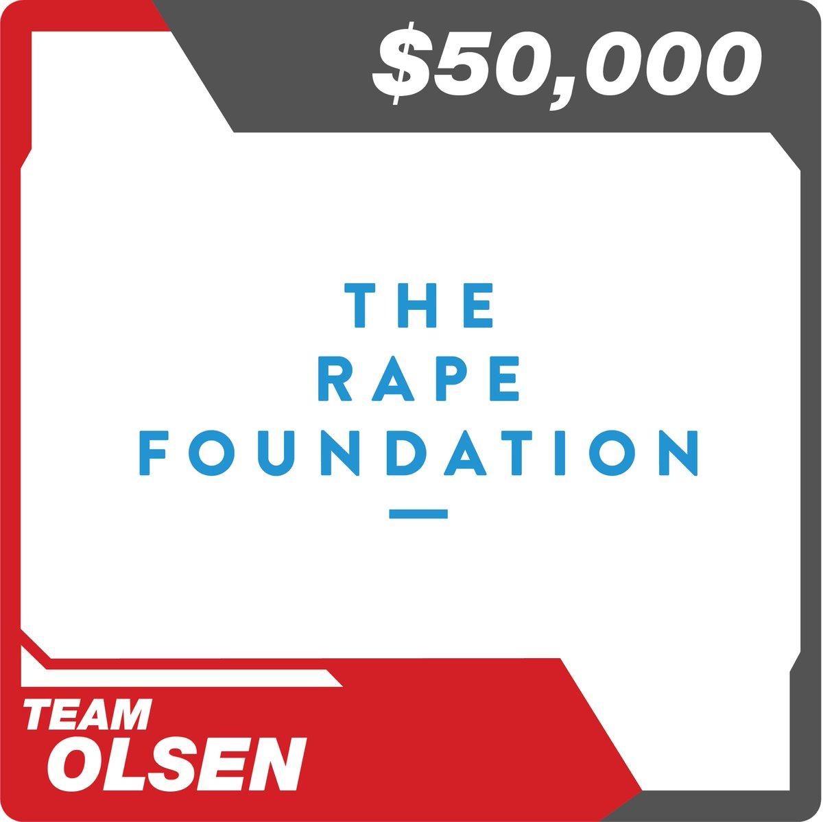 #TeamOlsen #ElizabethOlsen #TheRapeFoundation