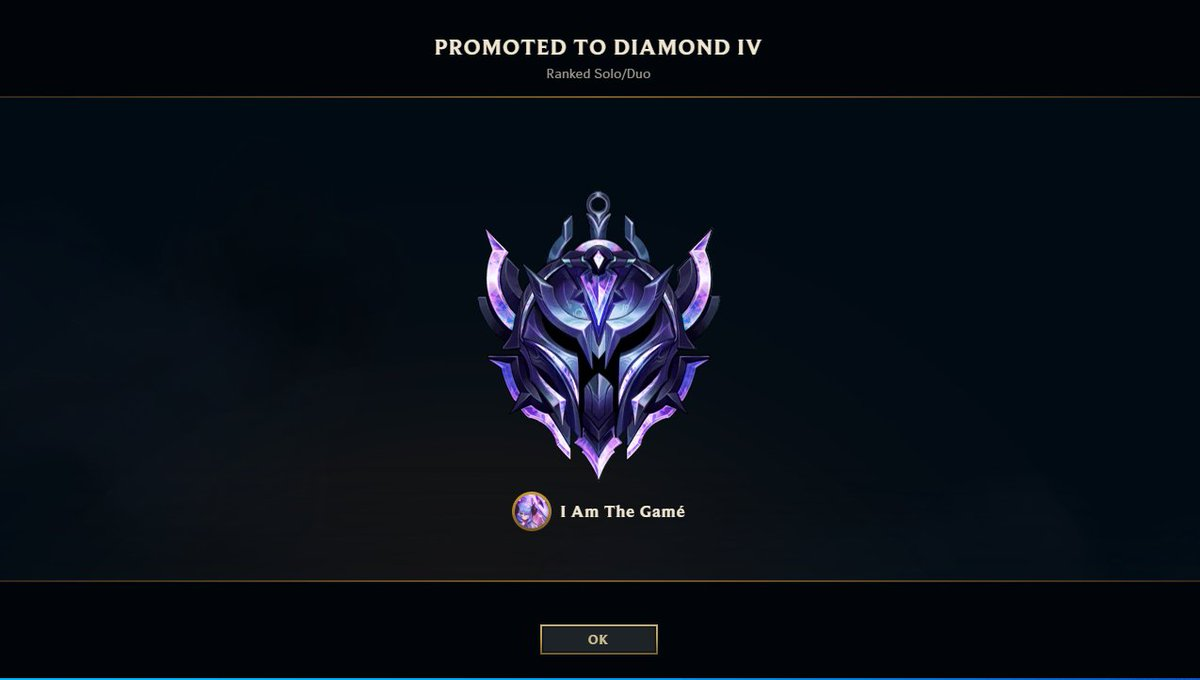 LouieMoney - Hit Diamond in league for the first time to end the year yesterday 🥵
