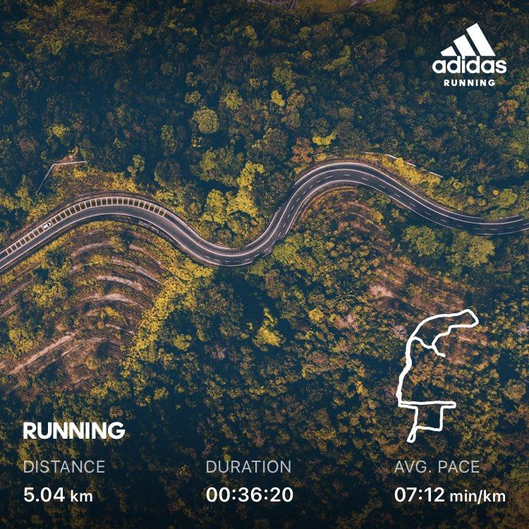 First run for 2021 #postyearofcourage