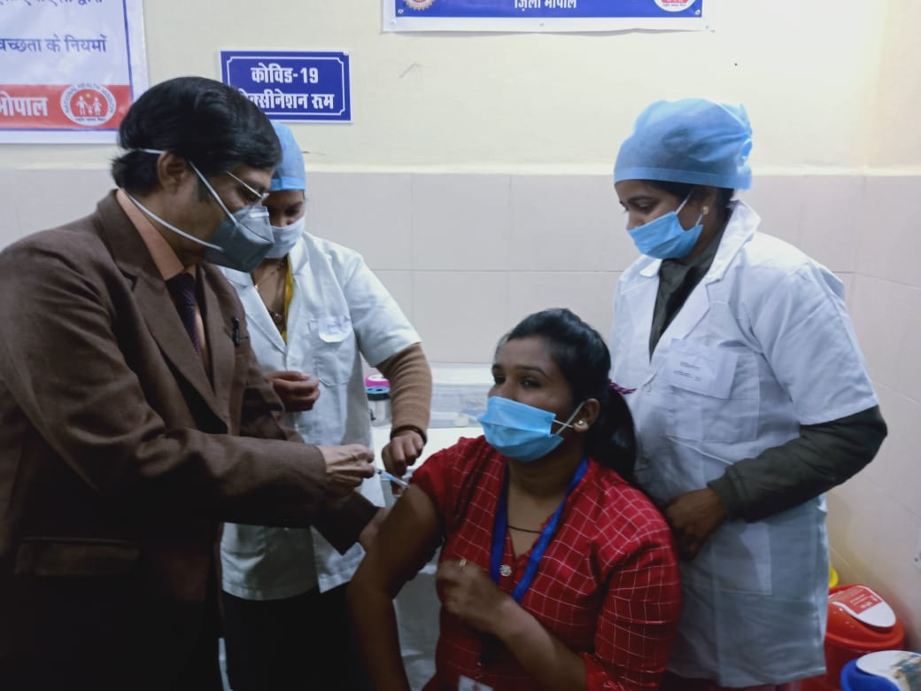 कोविड टीका ड्राय रन